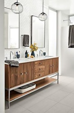 Fascinating Bathroom Vanity Lighting Design Ideas 15
