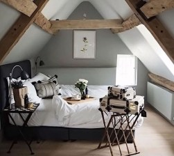 Genius Rustic Scandinavian Bedroom Design Ideas 05