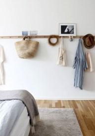 Genius Rustic Scandinavian Bedroom Design Ideas 27