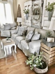 Gorgeous Farmhouse Design Ideas For Living Room 11