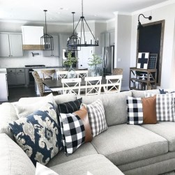 Gorgeous Farmhouse Design Ideas For Living Room 23