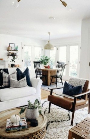 Gorgeous Farmhouse Design Ideas For Living Room 28