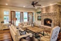 Gorgeous Farmhouse Design Ideas For Living Room 31