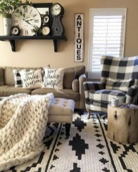 Gorgeous Farmhouse Design Ideas For Living Room 33