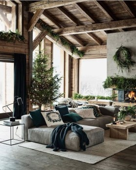 Gorgeous Farmhouse Design Ideas For Living Room 38