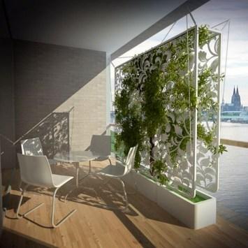 Impressive Balcony Garden Design Ideas 22