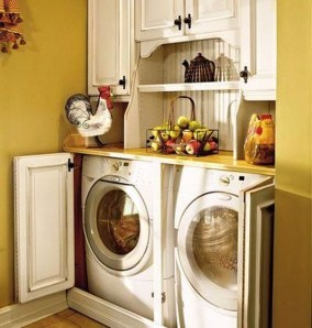 Innovative Laundry Room Design With French Country Style 04