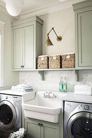 Innovative Laundry Room Design With French Country Style 44