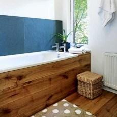 Marvelous Wooden Bathtub Design Ideas To Get Relax 30