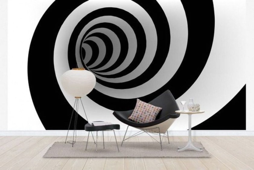 Perfect 3D Wallpapaer Design Ideas For Living Room 09