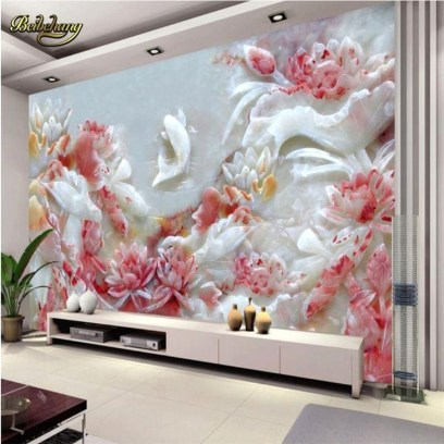 Perfect 3D Wallpapaer Design Ideas For Living Room 10