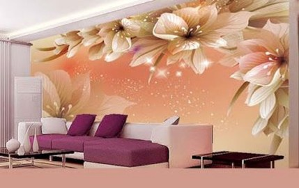 Perfect 3D Wallpapaer Design Ideas For Living Room 14