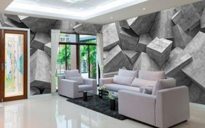 Perfect 3D Wallpapaer Design Ideas For Living Room 28