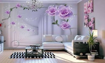 Perfect 3D Wallpapaer Design Ideas For Living Room 32