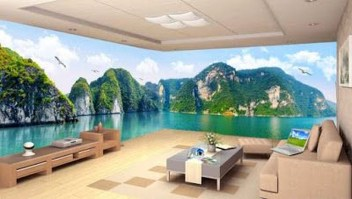 Perfect 3D Wallpapaer Design Ideas For Living Room 33