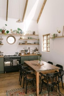 Pretty Cottage Kitchen Design And Decor Ideas 29