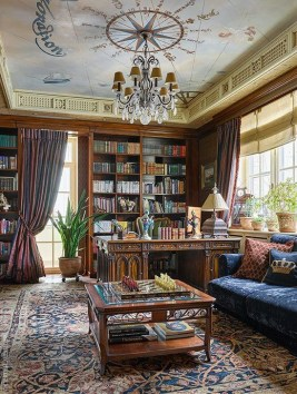 Wonderful Home Library Design Ideas To Make Your Home Look Fantastic 09