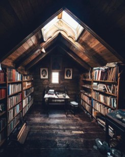 Wonderful Home Library Design Ideas To Make Your Home Look Fantastic 10