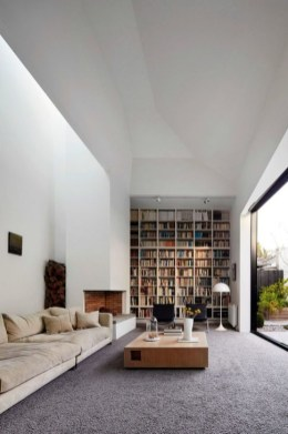 Wonderful Home Library Design Ideas To Make Your Home Look Fantastic 43