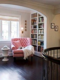 Wonderful Home Library Design Ideas To Make Your Home Look Fantastic 48