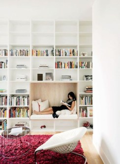 Wonderful Home Library Design Ideas To Make Your Home Look Fantastic 53