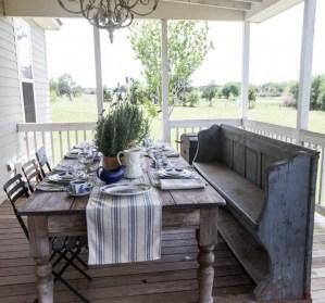 Adorable Summer Dining Room Design Ideas 04