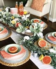 Adorable Summer Dining Room Design Ideas 10