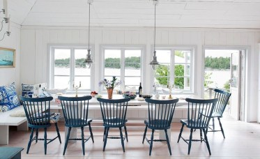 Adorable Summer Dining Room Design Ideas 12