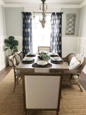 Adorable Summer Dining Room Design Ideas 15