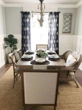 Adorable Summer Dining Room Design Ideas 15