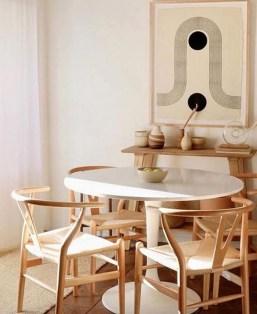 Adorable Summer Dining Room Design Ideas 18