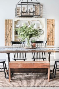 Adorable Summer Dining Room Design Ideas 20