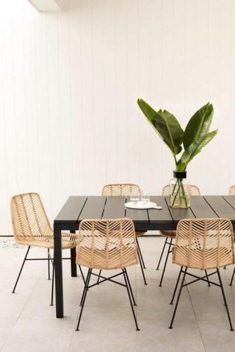 Adorable Summer Dining Room Design Ideas 32