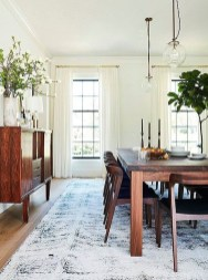 Adorable Summer Dining Room Design Ideas 35