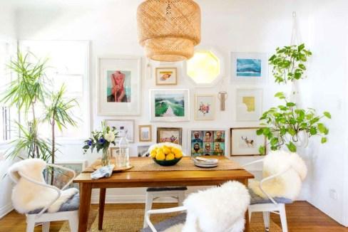 Adorable Summer Dining Room Design Ideas 45