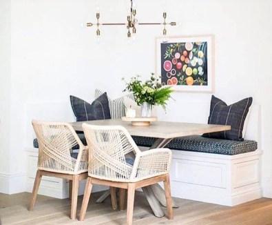 Adorable Summer Dining Room Design Ideas 47