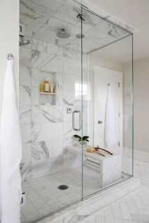 Amazing Bathroom Shower Remodel Ideas On A Budget 41