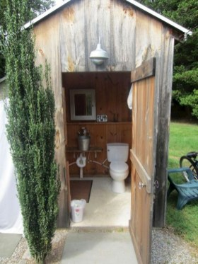 Best Ideas For Outdoor Bathroom Design 36