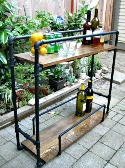 Cheap And Easy DIY Outdoor Bars Ideas 22