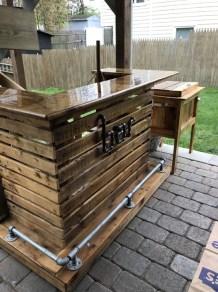 Cheap And Easy DIY Outdoor Bars Ideas 33