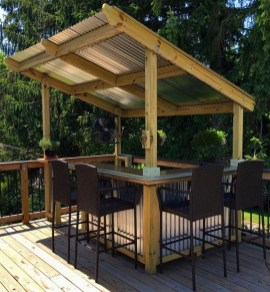 Cheap And Easy DIY Outdoor Bars Ideas 35