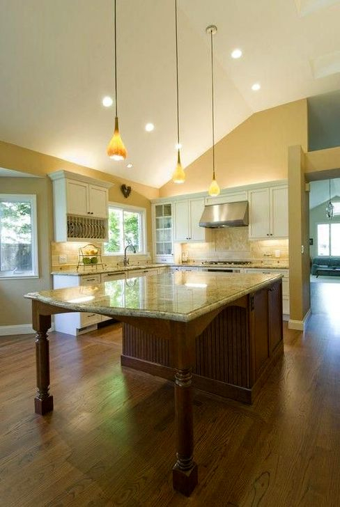 Classy Wooden Kitchen Island Ideas For Your Kitchen 13