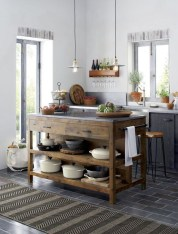 Classy Wooden Kitchen Island Ideas For Your Kitchen 27