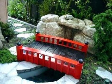 Cool Garden Bridge Ideas You Will Totally Love 26