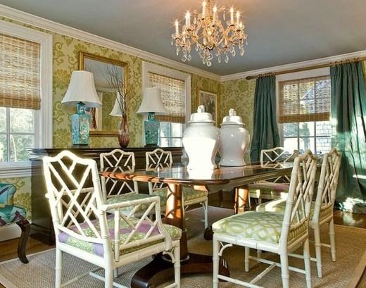 Cozy Asian Dining Room Design Ideas 01