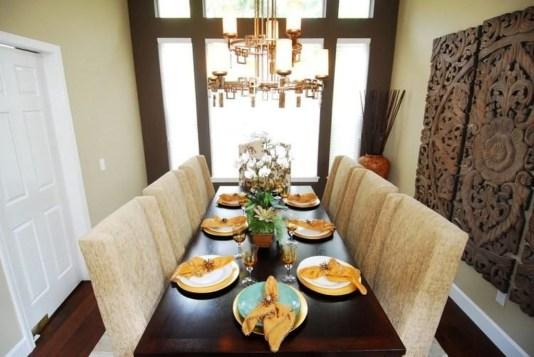 Cozy Asian Dining Room Design Ideas 17