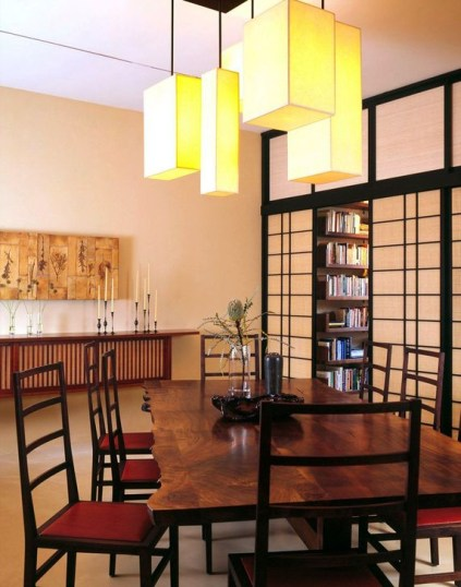 Cozy Asian Dining Room Design Ideas 20