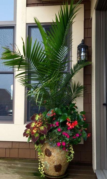 Creative Front Door Flowers Pot Ideas 10