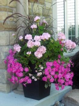 Creative Front Door Flowers Pot Ideas 20