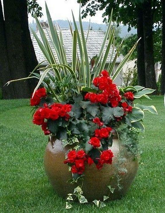 Creative Front Door Flowers Pot Ideas 34
